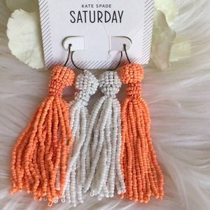 🆕Kate Spade Saturday Sunday Bead Earrings Bundle